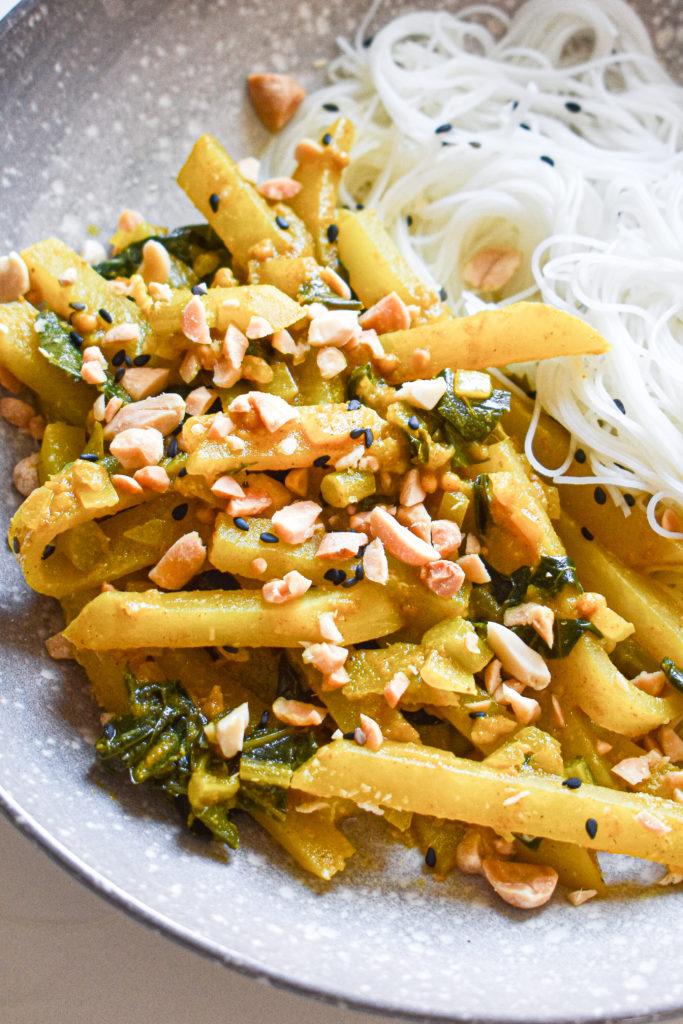 curry z kalarepy